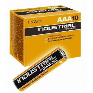 10 pilas alcalinas Duracell Industrial LR06 (AA)